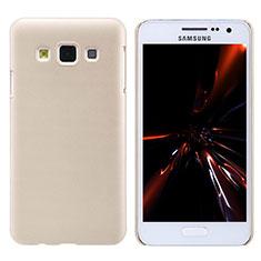 Carcasa Dura Plastico Rigida Mate M02 para Samsung Galaxy A3 Duos SM-A300F Oro