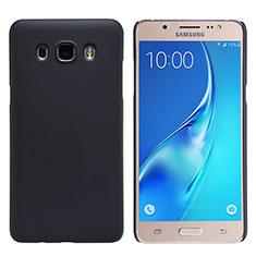 Carcasa Dura Plastico Rigida Mate M02 para Samsung Galaxy J5 Duos (2016) Negro