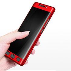 Carcasa Dura Plastico Rigida Mate M02 para Xiaomi Mi Note 2 Rojo