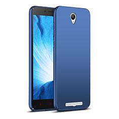 Carcasa Dura Plastico Rigida Mate M02 para Xiaomi Redmi Note 2 Azul