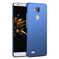 Carcasa Dura Plastico Rigida Mate M03 para Huawei Mate 7 Azul
