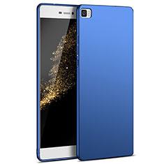 Carcasa Dura Plastico Rigida Mate M03 para Huawei P8 Lite Azul