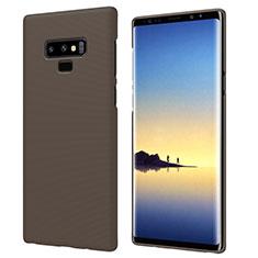 Carcasa Dura Plastico Rigida Mate M04 para Samsung Galaxy Note 9 Marron