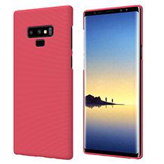 Carcasa Dura Plastico Rigida Mate M04 para Samsung Galaxy Note 9 Rojo