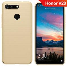 Carcasa Dura Plastico Rigida Mate M05 para Huawei Honor V20 Oro