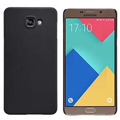 Carcasa Dura Plastico Rigida Mate M06 para Samsung Galaxy A9 Pro (2016) SM-A9100 Negro