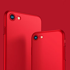 Carcasa Dura Plastico Rigida Mate M10 para Apple iPhone SE (2020) Rojo