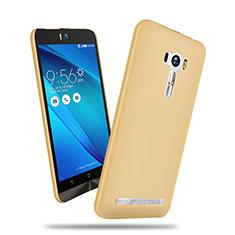 Carcasa Dura Plastico Rigida Mate para Asus Zenfone Selfie ZD551KL Oro