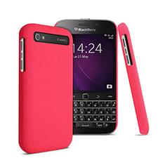 Carcasa Dura Plastico Rigida Mate para Blackberry Classic Q20 Rojo