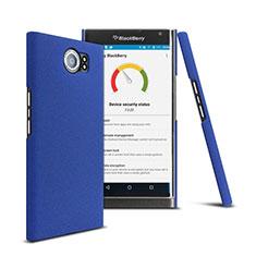 Carcasa Dura Plastico Rigida Mate para Blackberry Priv Azul