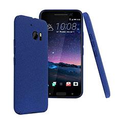 Carcasa Dura Plastico Rigida Mate para HTC 10 One M10 Azul