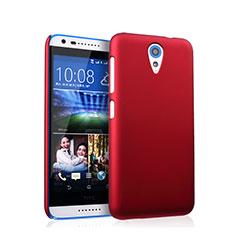 Carcasa Dura Plastico Rigida Mate para HTC Desire 620 Rojo
