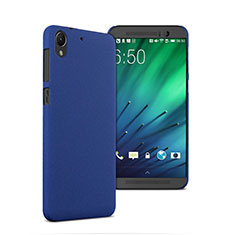 Carcasa Dura Plastico Rigida Mate para HTC Desire 728 728g Azul