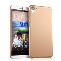 Carcasa Dura Plastico Rigida Mate para HTC Desire 826 826T 826W Oro