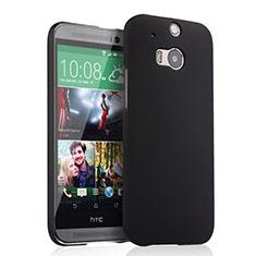 Carcasa Dura Plastico Rigida Mate para HTC One M8 Negro