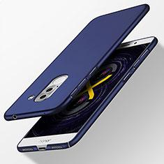 Carcasa Dura Plastico Rigida Mate para Huawei GR5 (2017) Azul