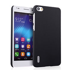 Carcasa Dura Plastico Rigida Mate para Huawei Honor 6 Negro