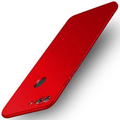 Carcasa Dura Plastico Rigida Mate para Huawei Honor 9 Lite Rojo