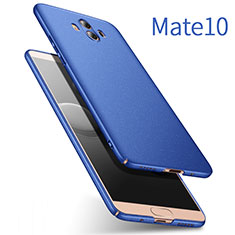 Carcasa Dura Plastico Rigida Mate para Huawei Mate 10 Azul