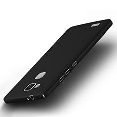 Carcasa Dura Plastico Rigida Mate para Huawei Mate 7 Negro