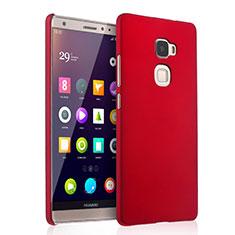Carcasa Dura Plastico Rigida Mate para Huawei Mate S Rojo