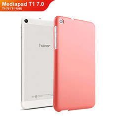 Carcasa Dura Plastico Rigida Mate para Huawei Mediapad T1 7.0 T1-701 T1-701U Rojo