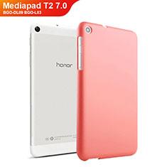 Carcasa Dura Plastico Rigida Mate para Huawei Mediapad T2 7.0 BGO-DL09 BGO-L03 Rojo