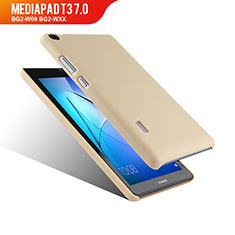 Carcasa Dura Plastico Rigida Mate para Huawei MediaPad T3 7.0 BG2-W09 BG2-WXX Oro