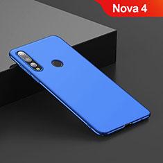 Carcasa Dura Plastico Rigida Mate para Huawei Nova 4 Azul