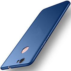 Carcasa Dura Plastico Rigida Mate para Huawei Nova Azul