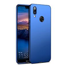 Carcasa Dura Plastico Rigida Mate para Huawei P20 Lite Azul
