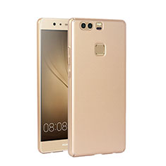 Carcasa Dura Plastico Rigida Mate para Huawei P9 Oro