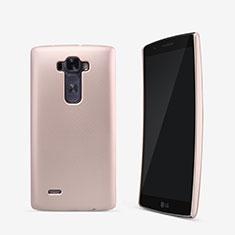 Carcasa Dura Plastico Rigida Mate para LG G Flex 2 Oro Rosa