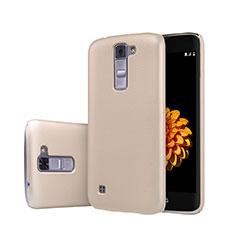 Carcasa Dura Plastico Rigida Mate para LG K7 Oro