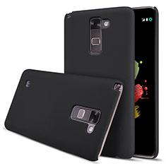 Carcasa Dura Plastico Rigida Mate para LG Stylus 2 Plus Negro