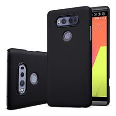 Carcasa Dura Plastico Rigida Mate para LG V20 Negro