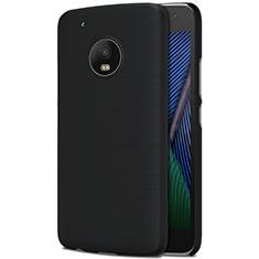 Carcasa Dura Plastico Rigida Mate para Motorola Moto G5 Plus Negro