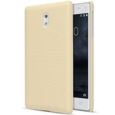 Carcasa Dura Plastico Rigida Mate para Nokia 3 Oro