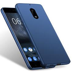 Carcasa Dura Plastico Rigida Mate para Nokia 6 Azul