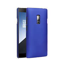 Carcasa Dura Plastico Rigida Mate para OnePlus 2 Azul