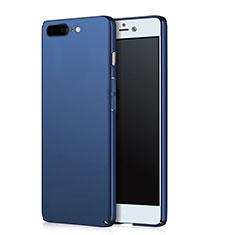 Carcasa Dura Plastico Rigida Mate para OnePlus 5 Azul