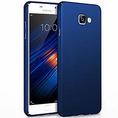 Carcasa Dura Plastico Rigida Mate para Samsung Galaxy A7 (2017) A720F Azul