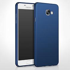 Carcasa Dura Plastico Rigida Mate para Samsung Galaxy A8 (2016) A8100 A810F Azul