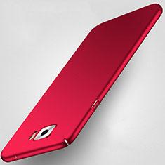 Carcasa Dura Plastico Rigida Mate para Samsung Galaxy C5 Pro C5010 Rojo
