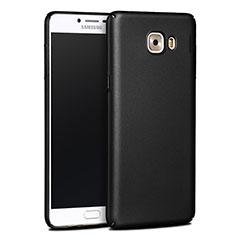 Carcasa Dura Plastico Rigida Mate para Samsung Galaxy C9 Pro C9000 Negro