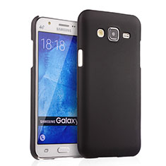 Carcasa Dura Plastico Rigida Mate para Samsung Galaxy J5 SM-J500F Negro