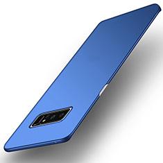 Carcasa Dura Plastico Rigida Mate para Samsung Galaxy Note 8 Duos N950F Azul
