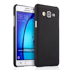 Carcasa Dura Plastico Rigida Mate para Samsung Galaxy On7 G600FY Negro