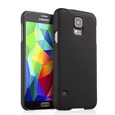 Carcasa Dura Plastico Rigida Mate para Samsung Galaxy S5 Duos Plus Negro
