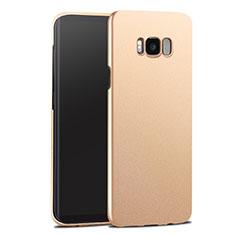 Carcasa Dura Plastico Rigida Mate para Samsung Galaxy S8 Plus Oro